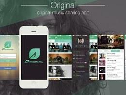 Original——原创音乐分享APP