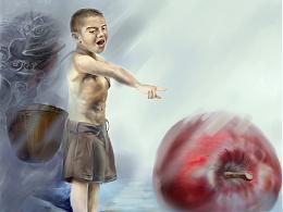 小孩的大苹果