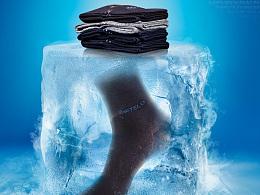 【果然章鱼】夏季冰爽袜子