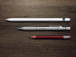 PS拟物习作·My Pencils