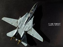 1:72 美国海军重型舰载战斗机 f-14b tomcat 熊猫