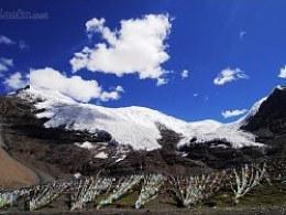 西藏·心灵之旅(13)卡诺拉冰川