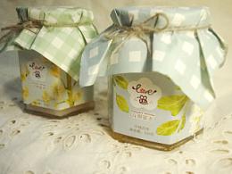花期密语 蜂蜜包装设计