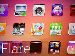 《360首届手机主题设计大赛》--Flare