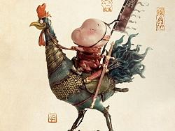 独角仙  闻鸡起舞今天发售。