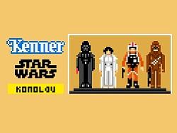 kenner玩具星球大战系列像素画