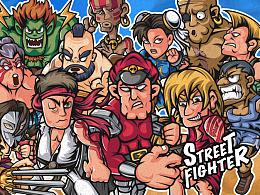 经典游戏【街头霸王】STREET FIGHTER
