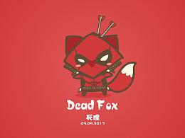 老狐狸变装-死侍.形象设计