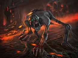 来自地狱的金属化食尸鬼