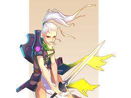 女战士 【Female warrior】