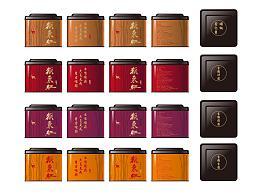 猴採红红茶包装设计