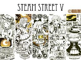 蒸汽朋克插画集5蒸汽街的秘密