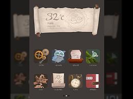 爱丽丝梦游仙境主题icon