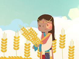 移动农信网网站宣传动画