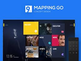 Mapping Go 智能电视概念设计