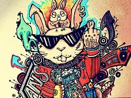 VANS-滑板兔