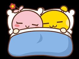 蘑菇点点晚安表情包
