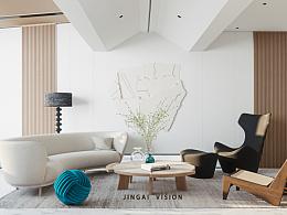 白色空间•安静客厅
