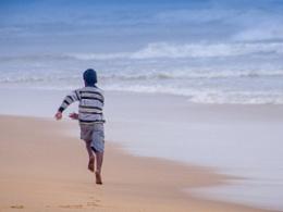 旅途-印度Puri海岸的小渔村