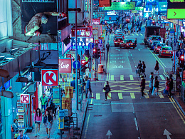 行走与记录——香港