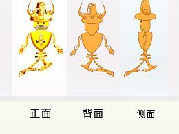 海航集团旗下-金牛座吉祥物设计