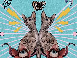 Creepy Doll 夜魅