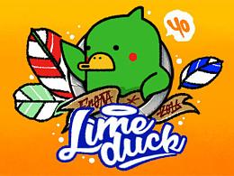 Lime duck/青柠鸭/ZOMAKE形象表情/微信表情包