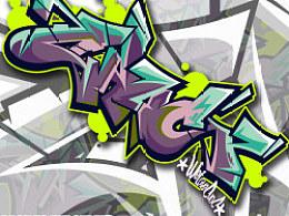 關於ILOVECHOC關於GRAFFITI~為公司做的一些圖~減弱很多風格