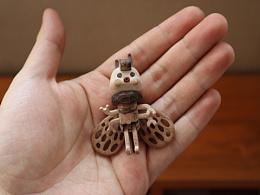 小蜜蜂  Moil's handmade