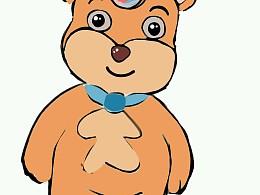 熊博士:卡通形象.图片