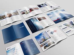 金融集团画册设计