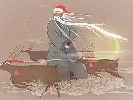 还有五秒,圣诞大军抵达战场。