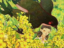油菜花儿—春