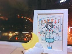 睡前小手绘~ by 牛小美milk