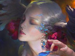 元素动力冯伟新作——大蓝闪蝶之死