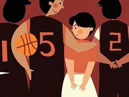 篮球动图最爱的五号嘻嘻!