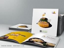 泰国甜品芒果探戈画册设计