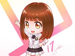 【SNH48】龚诗淇白色制服。