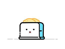 萌萌的面包机