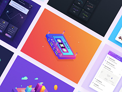 UI animation / illustrator