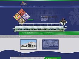 阿里巴巴国际站 主页设计 - 绣花机