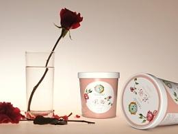 阳光菓子《花粥》包装及周边产品设计