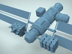 轨道导弹防御平台