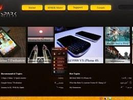 SPARK网页设计