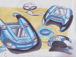 游戏机产品设计手绘方案