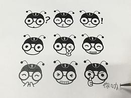 品牌动漫设计——外卖蚂蚁