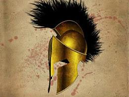 晒晒旧货-斯巴达国王头盔