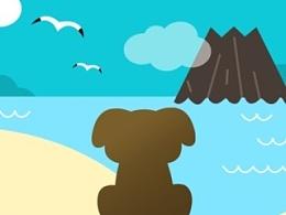 DOGWHERE APP loading页设计