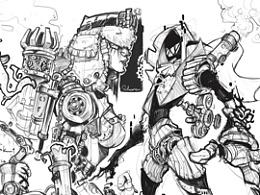 sketch(steampunk tho