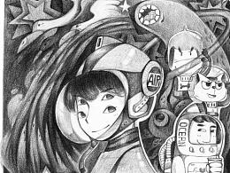 HONEY系列-火星女孩